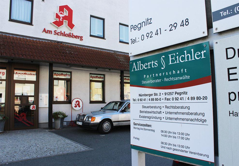 Alberts § Eichler Partnerschaft in Pegnitz & Pottenstein, Anwalt, Steuerberatung
