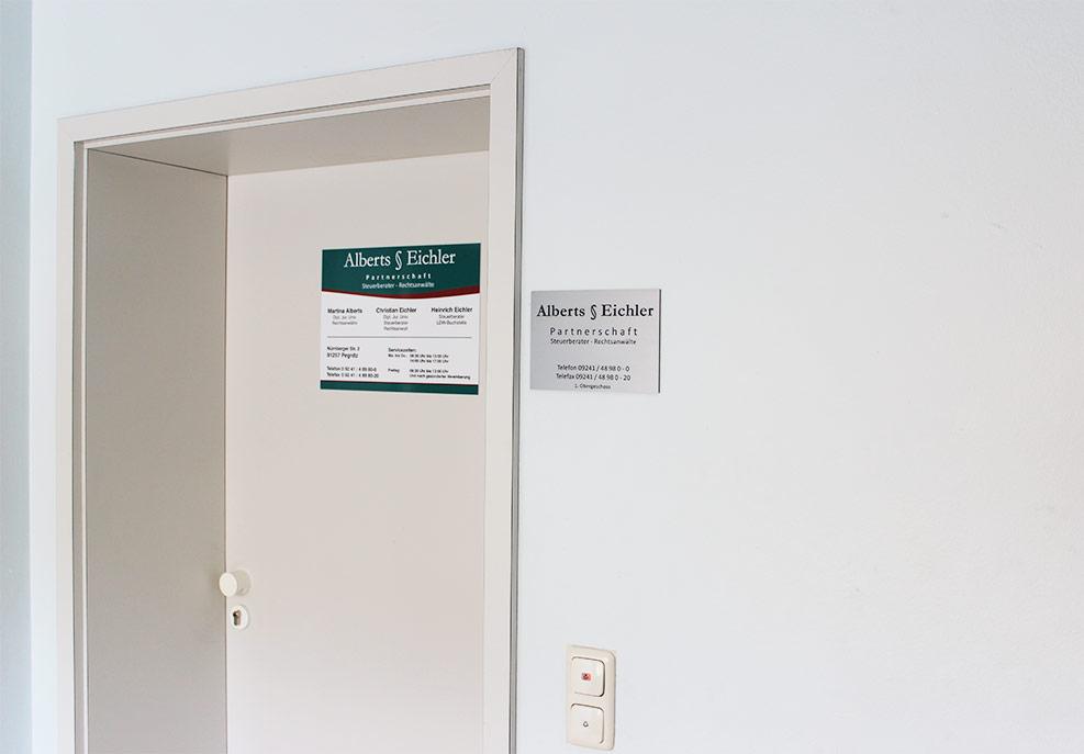 Alberts § Eichler Partnerschaft in Pegnitz & Pottenstein, Anwalt, Steuerberatung, Sprechzeiten